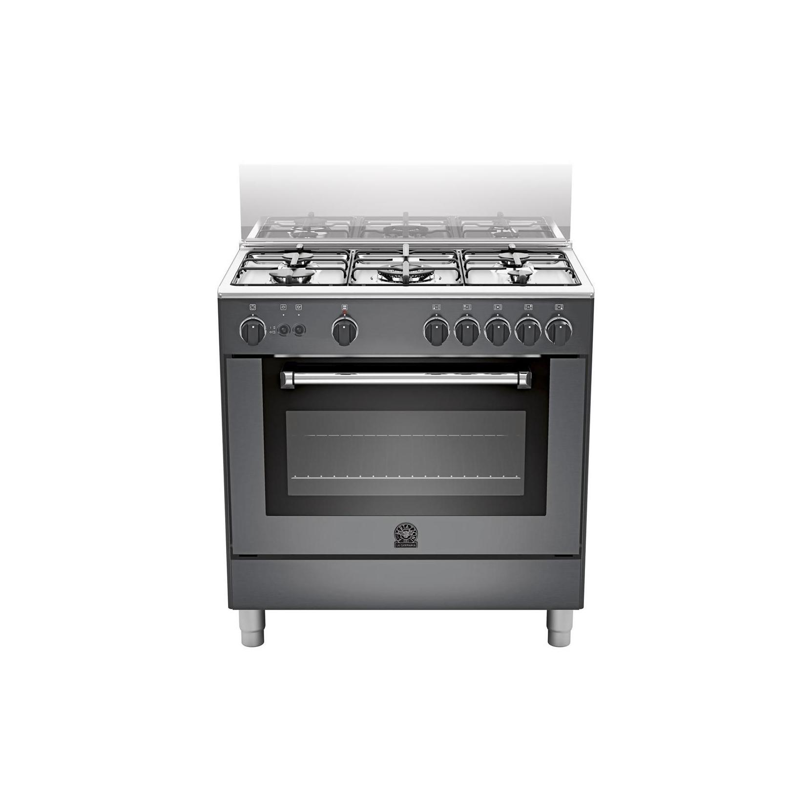 Cucina a gas con forno elettrico ventilato