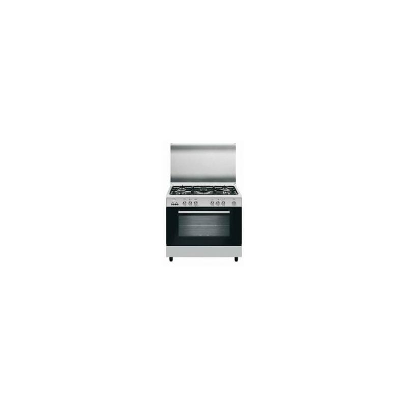Cucina glem gas a96gif3 inox 90x60 forno a gas ventilato garanzia italia elettrovillage - Cucine a gas samsung ...