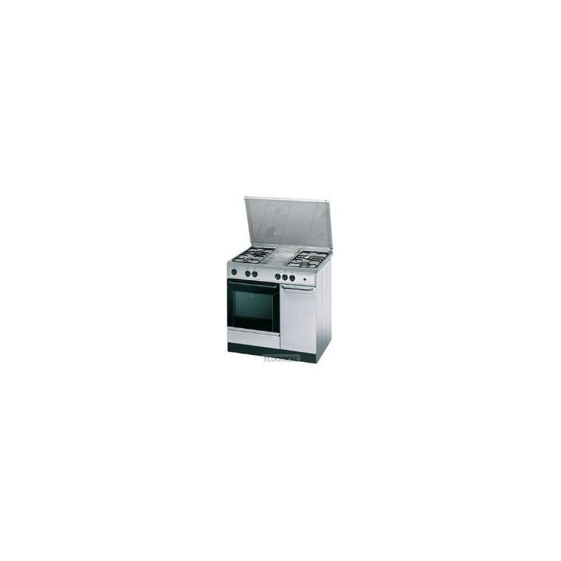 CUCINA INDESIT K9G21S(X)/IS 90X60 COLORE INOX 4 FUOCHI FORNO GAS GARANZIA ITALIA