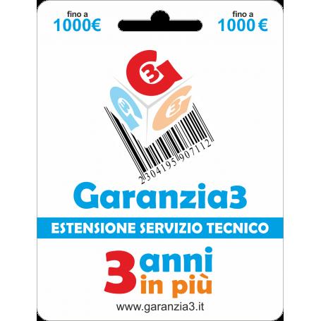 Garanzia3 Anni - 1000