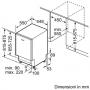 BOSCH SPV4EMX21E LAVASTOVIGLIE DA INCASSO A SCOMPARSA TOTALE SLIM 45CM 10 COPERTI CLASSE D - PROMO