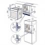 ELECTROLUX RZB2110AAX FORNO ELETTRICO DA INCASSO 60CM CAPACITA' 53 LITRI COLORE INOX CLASSE A - PROMO