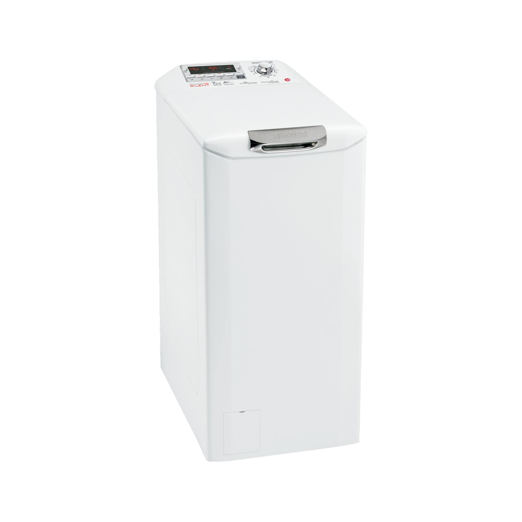 Lavatrice carica alto hoover dysm7123d3 classe a 7kg for Lavatrice con carica dall alto