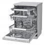 LG DF4425HSS LAVASTOVIGLIE LIBERA INSTALLAZIONE 14 COPERTI 10 PROGRAMMI CON PARTENZA RITARDATA CLASSE D COLORE INOX - PROMOZIONE
