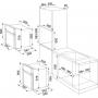 FORNO INCASSO FRANKE SMART GLASS SG62MWH/N 165052 6 FUNZIONI VETRO BIANCO CLASSE A