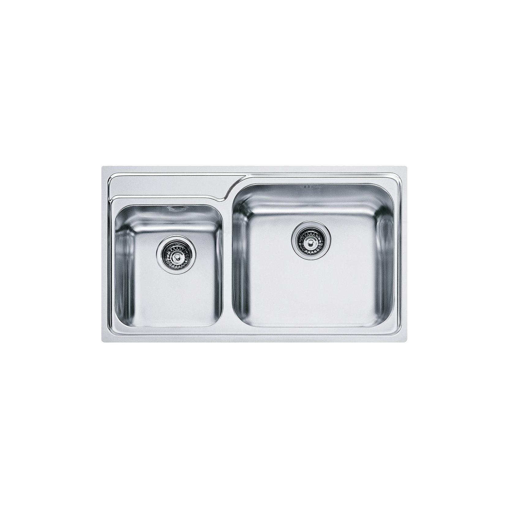 Lavelli Cucina Inox Incasso : Lavello da incasso franke gax vasche acciaio