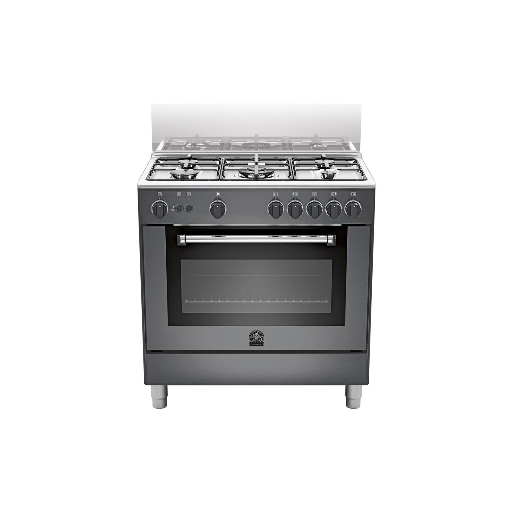 Cucina a gas la germania am85c71cne 13 5 fuochi a gas for Cucina 5 fuochi 70x60