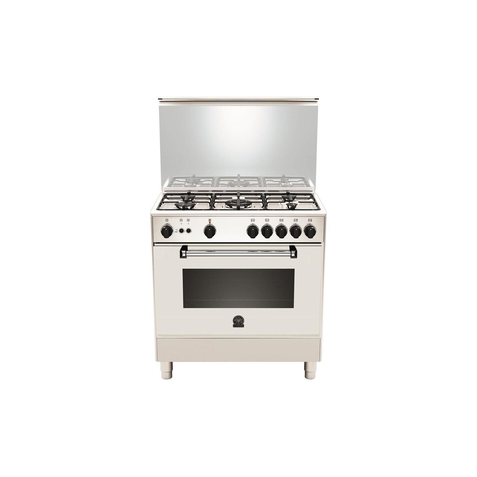 Cucina a gas la germania am85c71dw 5 fuochi a gas forno a for Forno a gas