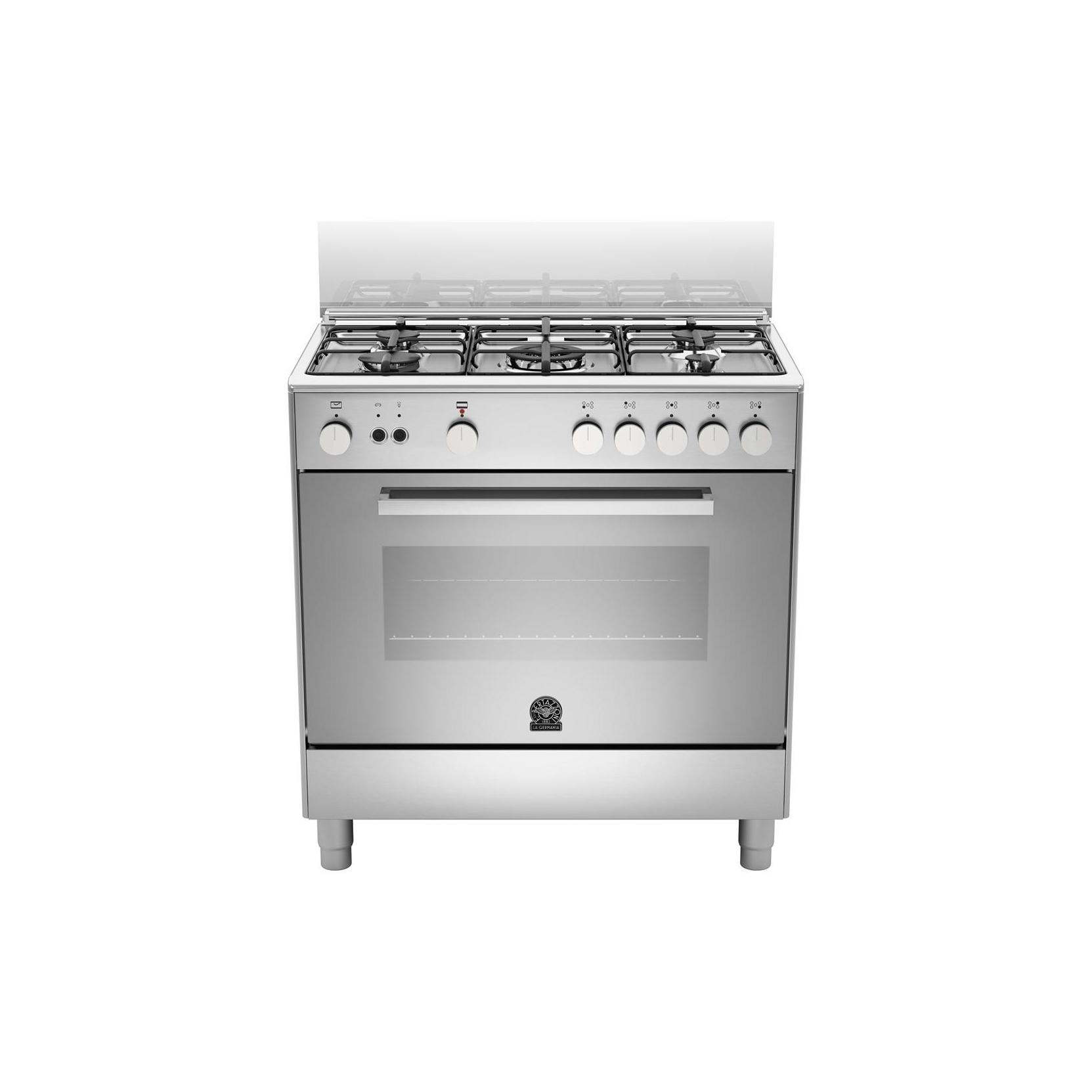 Cucina la germania tu85c61dxt 80x50 5 fuochi a gas forno for Cucina 5 fuochi 70x60