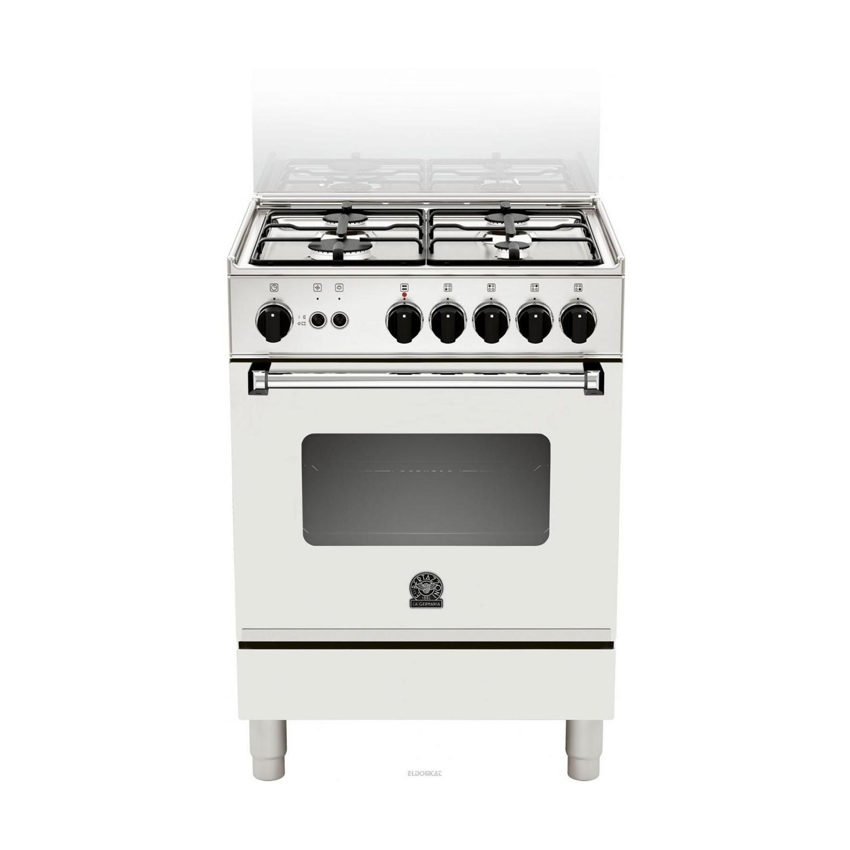 La germania am14051dwt cucina 4 fuochi a gas 60x50 forno - Cucine ariston forno elettrico ...