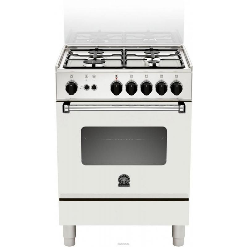 La germania am64071dw cucina 4 fuochi a gas 60x60 colore bianco forno a gas multifunzione - Cucine a gas samsung ...