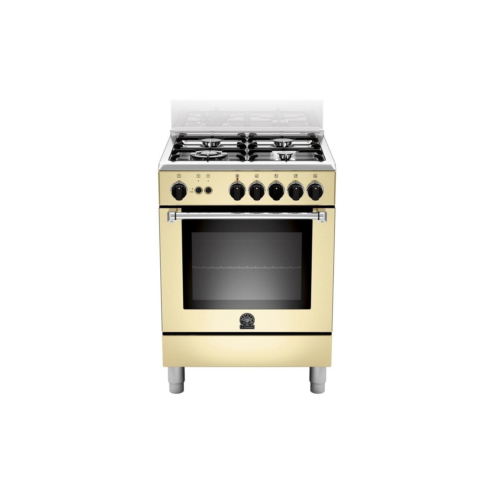 Cucina la germania am64c61ccrt 60x60 colore crema forno - Cucine a gas la germania ...