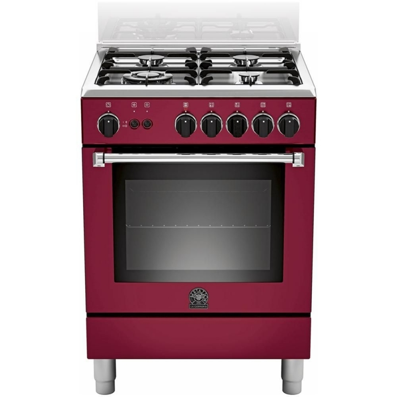 Cucina la germania am64c61cvit 60x60 colore vino forno - Eprice cucine a gas ...