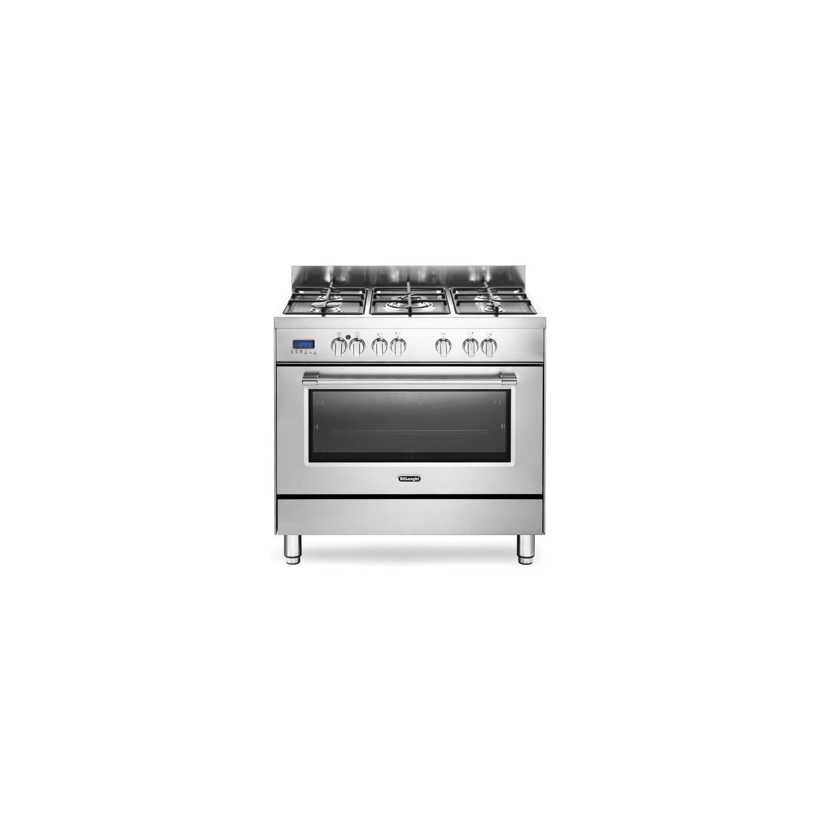 Cucina de longhi pro96mx tuttoforno 90 x 60 inox promozione elettrovillage - Cucine a gas samsung ...