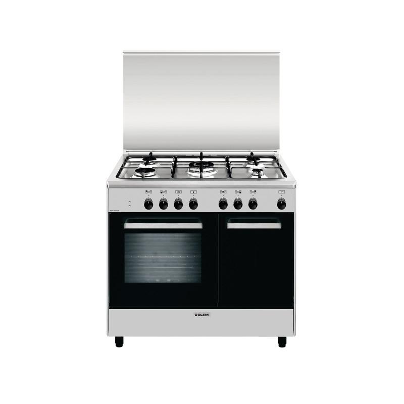 Cucina glem ar965mi6 90x60 libera installazione piano cottura a gas forno elettrico - Cucine a gas samsung ...