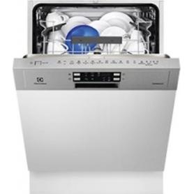ELECTROLUX ESI5530LOX LAVASTOVIGLIE DA INCASSO CON FRONTALINO A VISTA 13 COP. MOTORE INVERTER INOX CLASSE A++
