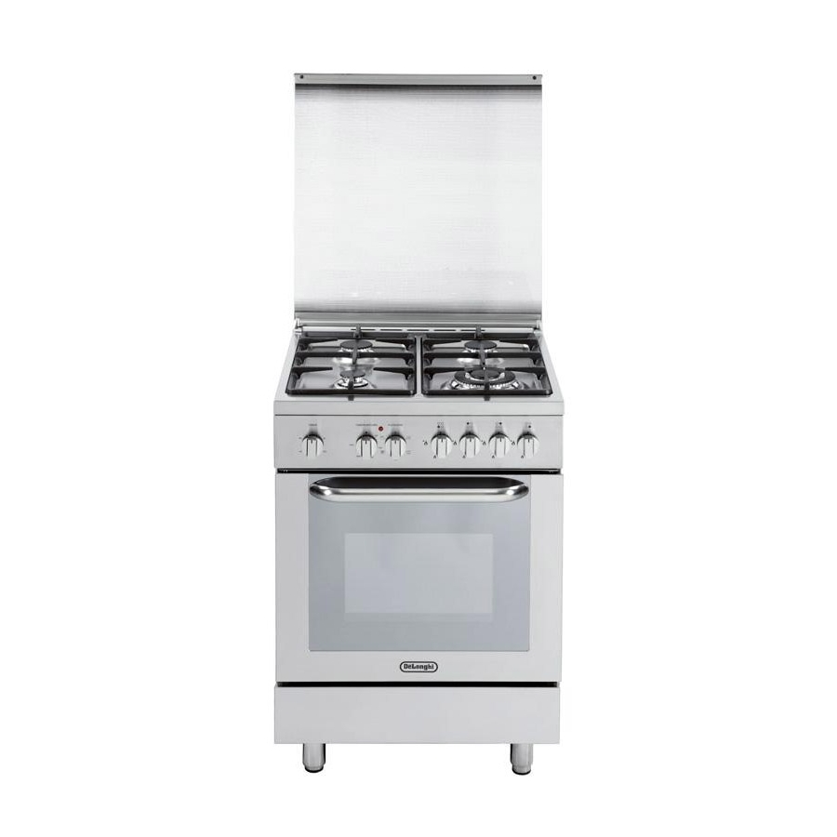 Cucina de longhi demx664 60x60 4 fuochi forno elettrico 6 funzioni inox immediatamente - Cucine a gas samsung ...