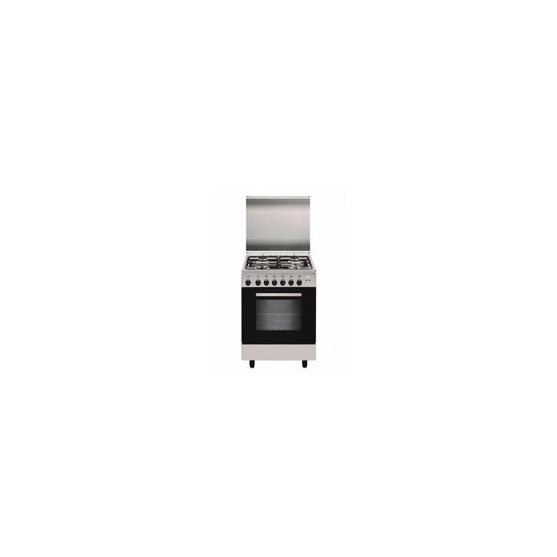 Glem cucina a gas a66mi 4 fuochi a gas 60x60 forno elettrico multifunzione classe a colore inox - Cucine a gas samsung ...