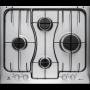 ELECTROLUX PIANO COTTURA 60CM RGG6242LOX A GAS 4 FUOCHI COLORE INOX GARANZIA ITALIA