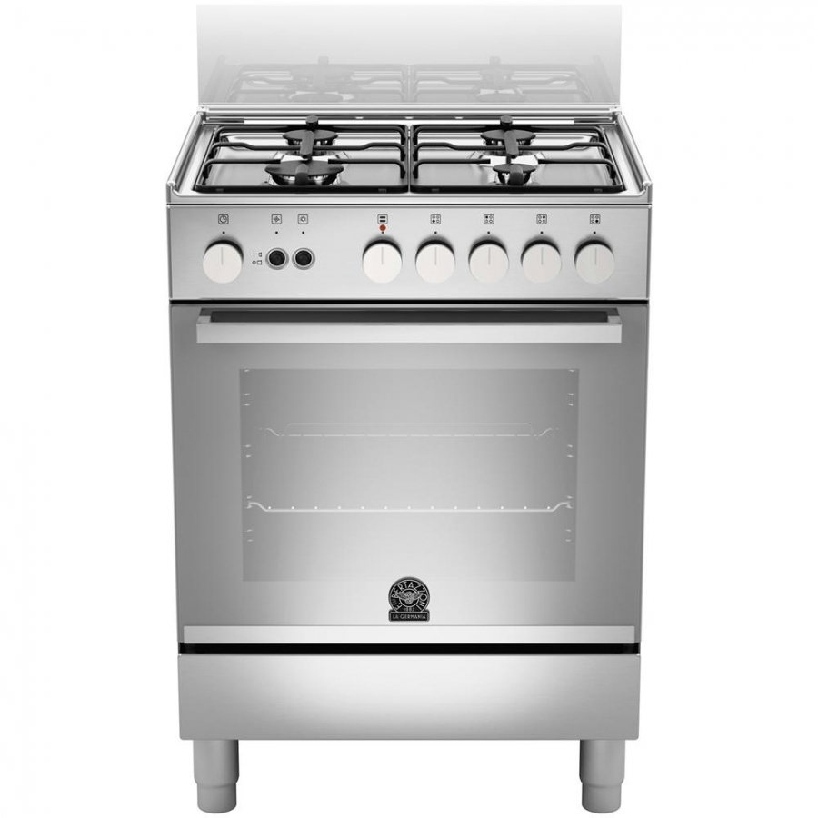 La germania cucina tu14071dx 4 fuochi a gas 60x50 inox - Cucine a gas ikea ...