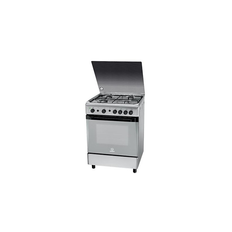 Hotpoint cucina a gas kn6g21s x i s colore inox 60x60cm garanzia italia elettrovillage - Cucine a gas indesit ...