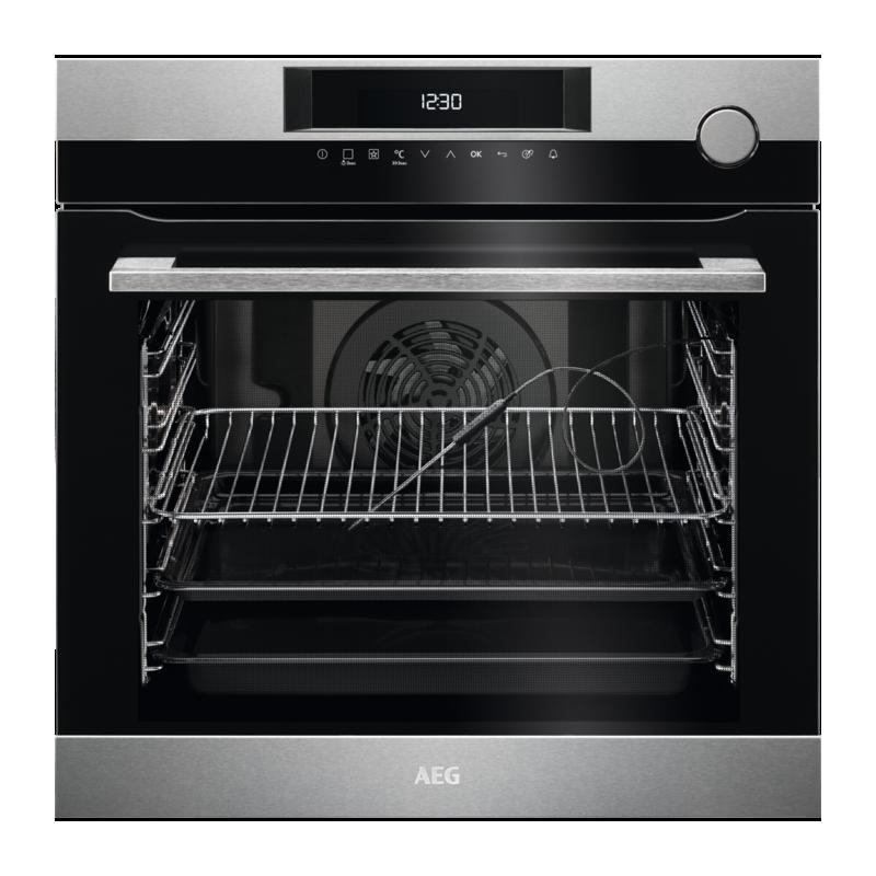 Aeg bsk772221m forno multifunzione da incasso con cottura a vapore cm 60 a inox 74 litri - Forno da incasso aeg ...