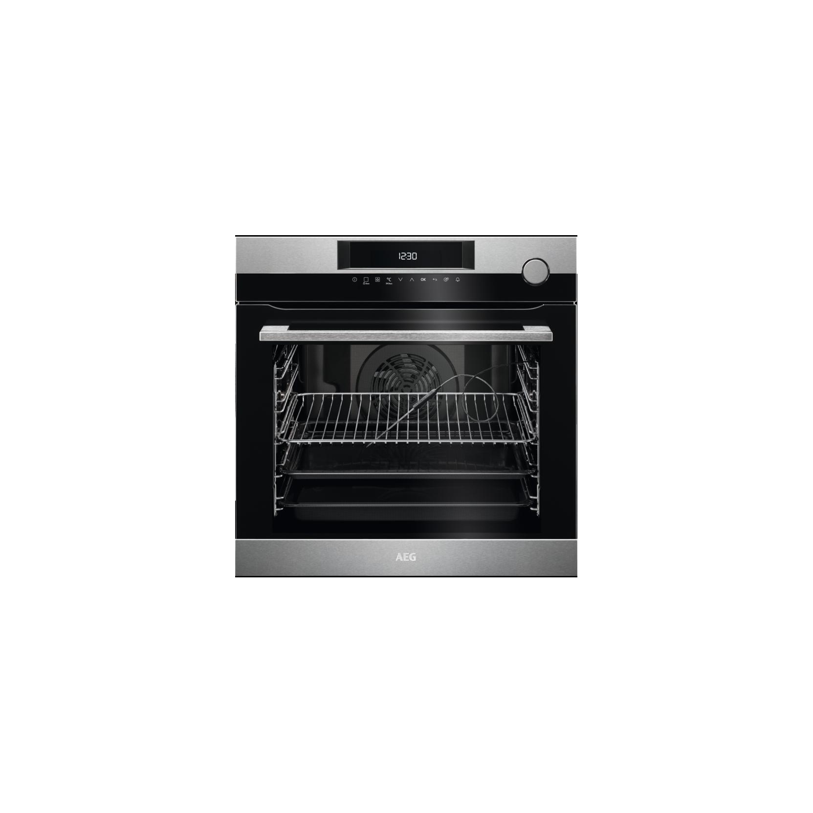 Aeg bsk772221m forno multifunzione da incasso con cottura a vapore cm 60 a inox 74 litri - Forno con cottura a vapore ...