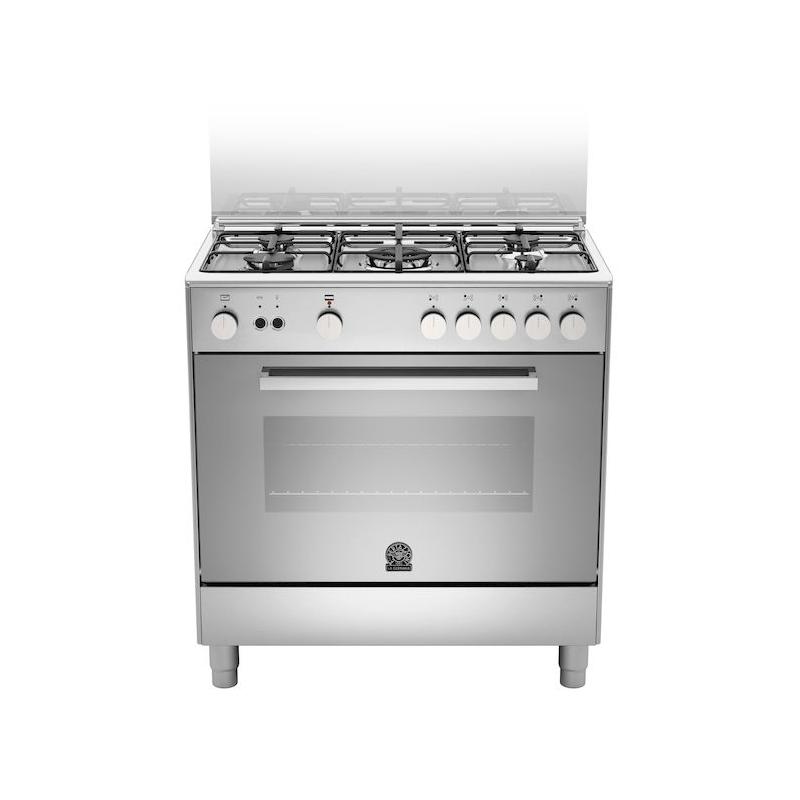 La germania tu85c71dx 13 cucina a gas 5 fuochi inox 80x50 forno gas ventilato garanzia italia - Cucine a gas samsung ...