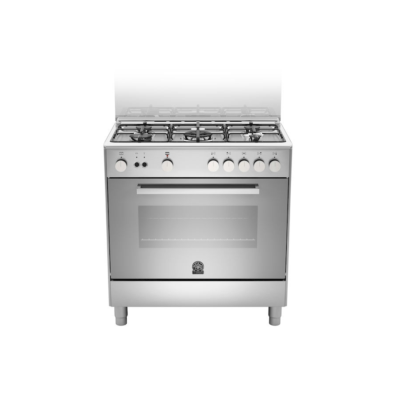 La germania tu85c71dx 13 cucina a gas 5 fuochi inox 80x50 forno gas ventilato garanzia italia - Cucina a gas 5 fuochi ...