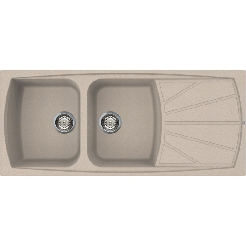 Lavello incasso elleci lgl50051 avena 116 50 2 vasche - Mobile lavello cucina leroy merlin ...