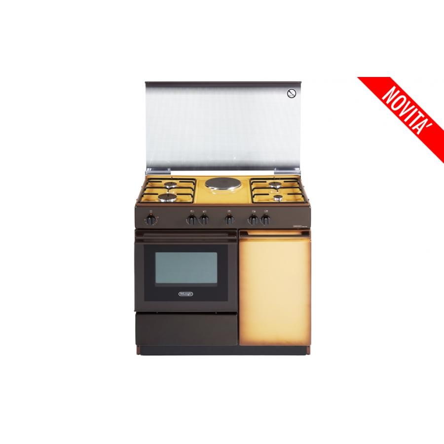 Cucina de longhi sek8541n coppertone 86 50 forno elettrico 4 f 1 p elettrica elettrovillage - Cucina elettrica de longhi ...