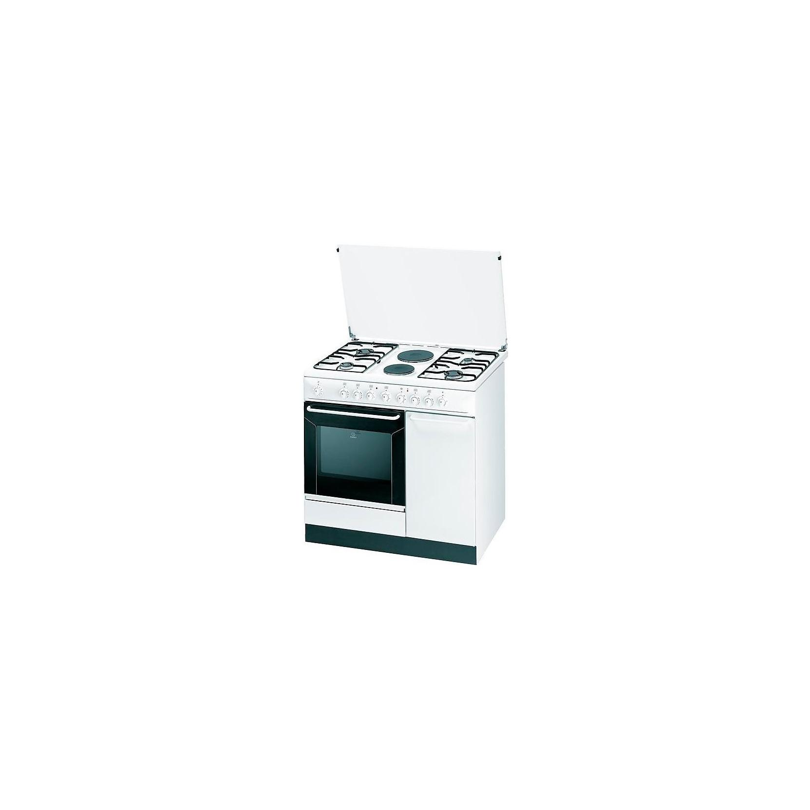 Cucina indesit k9b11sb w i con porta bombola 90x60 bianca 4 fuochi 2 piastre elettriche - Cucine a gas samsung ...