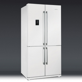 SMEG FRIGO SIDE BY SIDE FQ60BPE 4 PORTE TOTAL NO FROST COLORE BIANCO ...