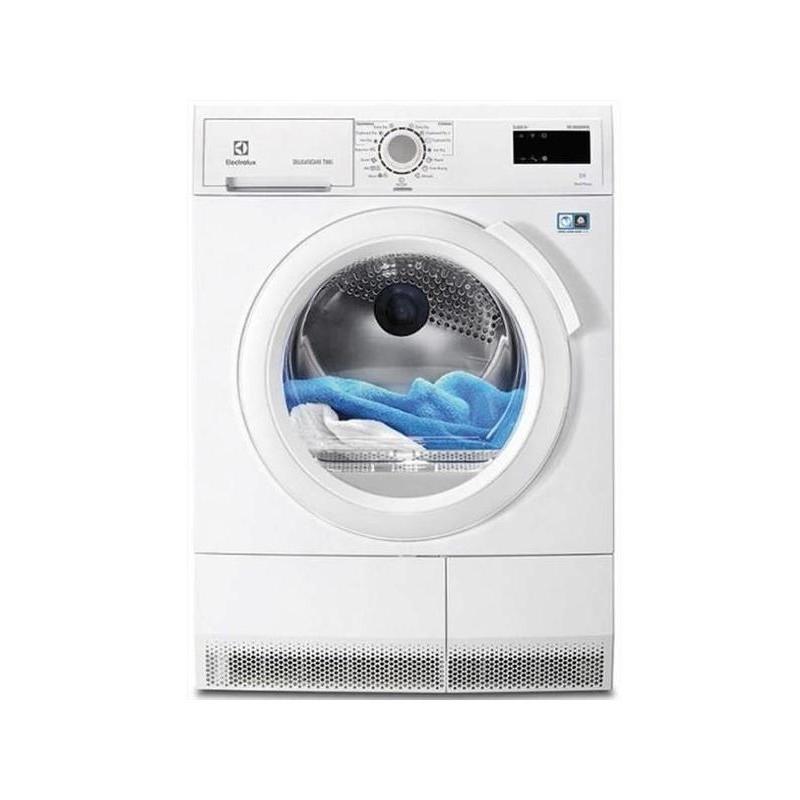 Electrolux asciugatrice edh3885gfe optisense 8kg classe for Asciugatrice pompa di calore