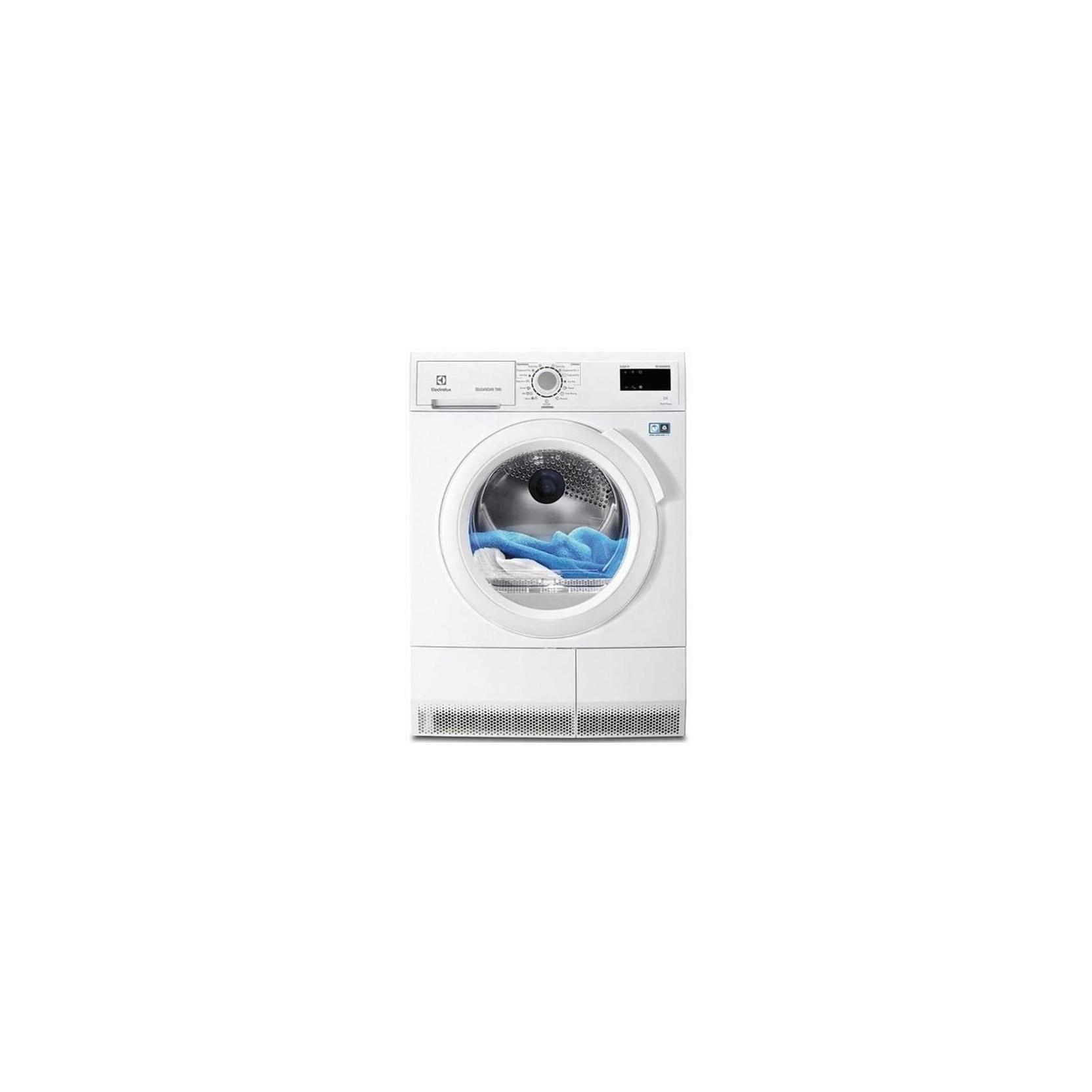 Electrolux asciugatrice edh3885gfe optisense 8kg classe for Asciugatrice a pompa di calore
