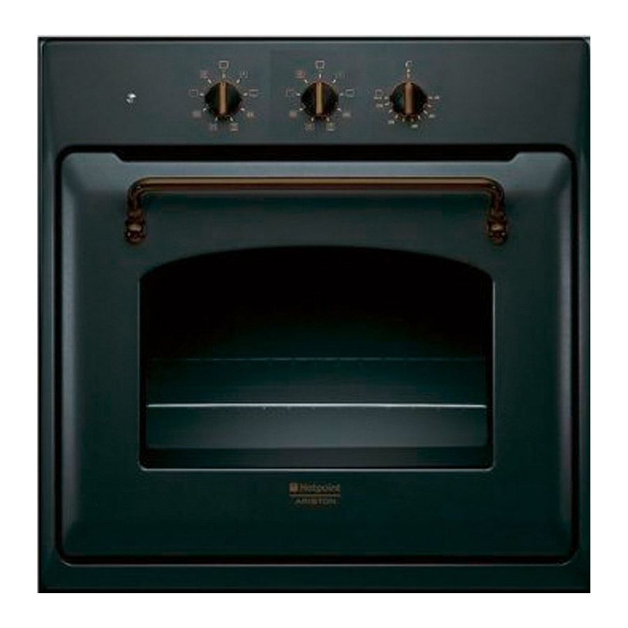 Ariston hotpoint ft820 1 an ha s forno da incasso 7 - Ariston forno da incasso ...