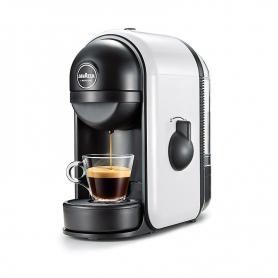 LAVAZZA MINUBIANCO A MODO MIO MINÙ MACCHINA CAFFÈ ESPRESSO AUTOMATICA SERBATOIO 0.5 LT. POTENZA 1250 WATT COLORE BIANCO