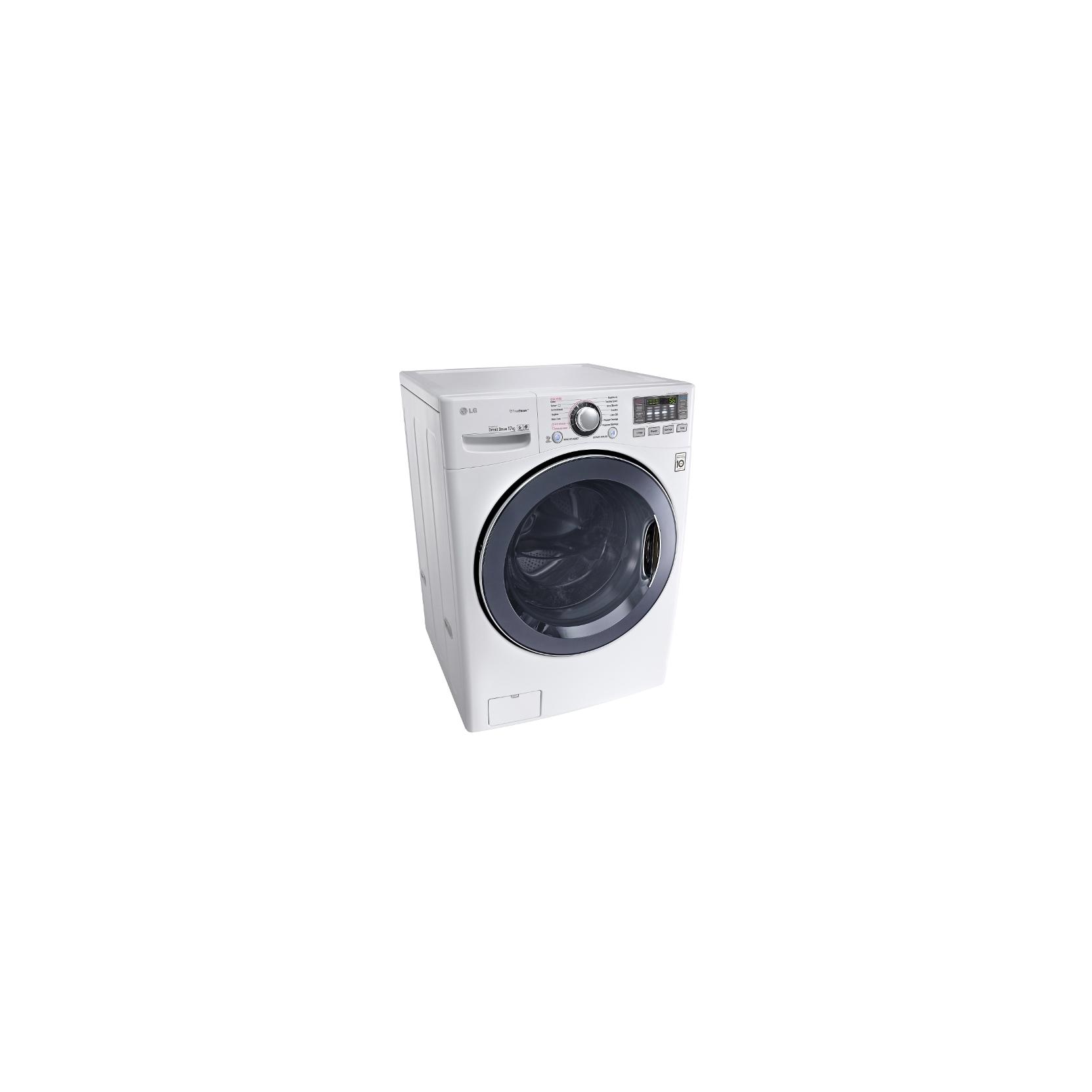 Lg f1k2cs2w lavatrice carica frontale 17kg a 1100 giri for Motore inverter lavatrice