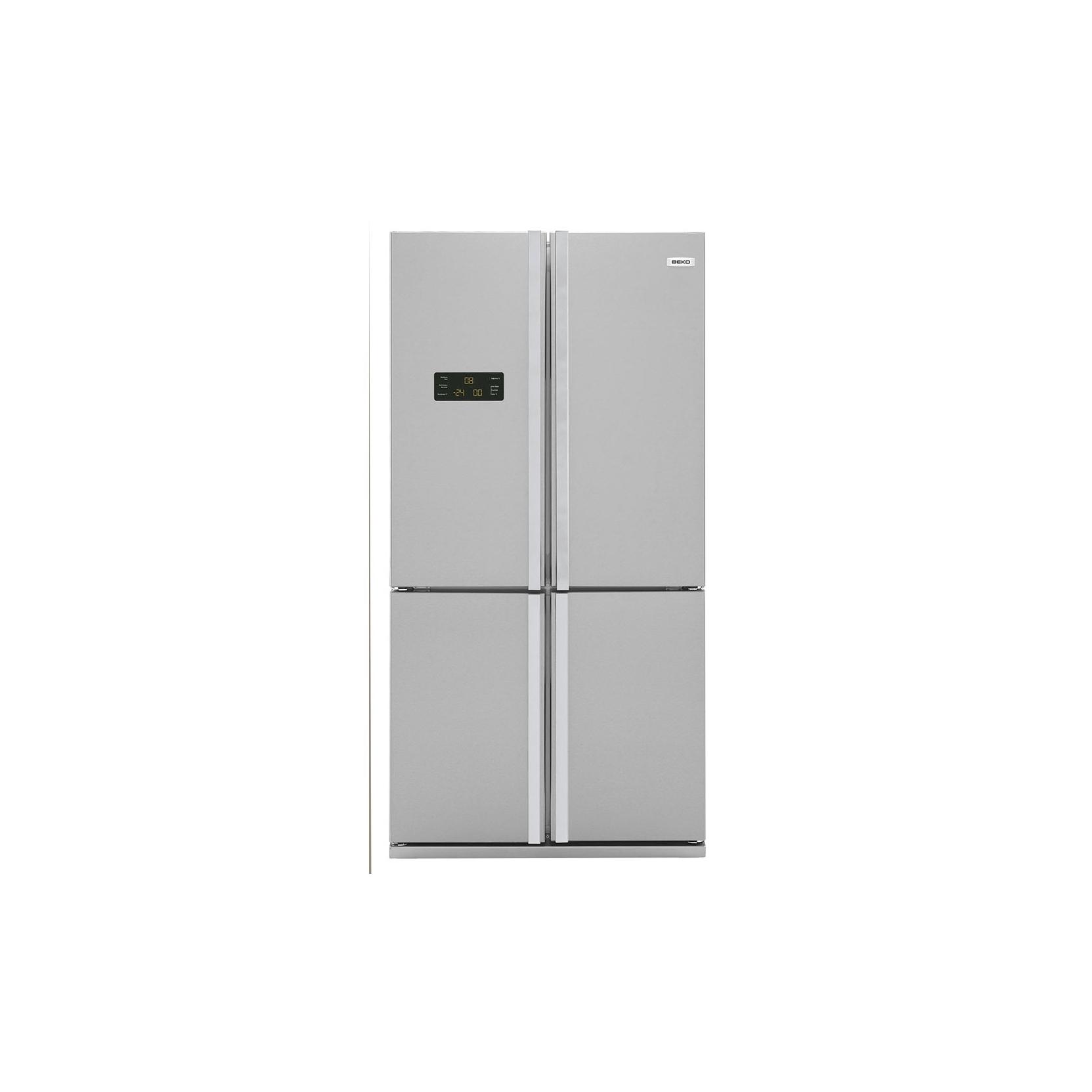 Beko gne114612x frigorifero 4 porte total no frost a for Frigorifero side by side 4 porte