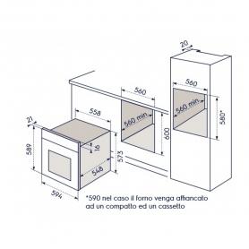 REX ELECTROLUX EOB6410BOX FORNO DA INCASSO A VAPORE COLORE INOX GARANZIA ITALIA - PROMOZIONE