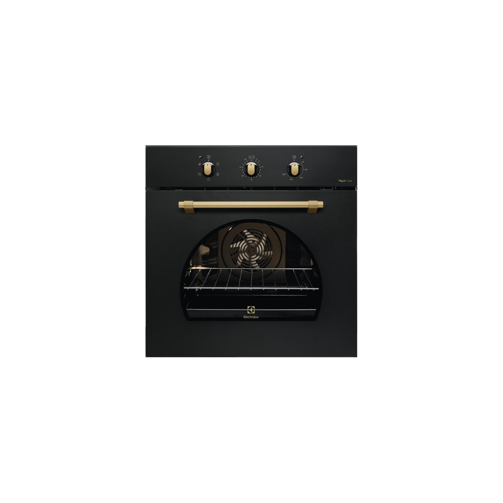 Electrolux rex fr53g forno elettrico multifunzione da incasso 70 l in ghisa nero garanzia italia - Rex forno da incasso ...