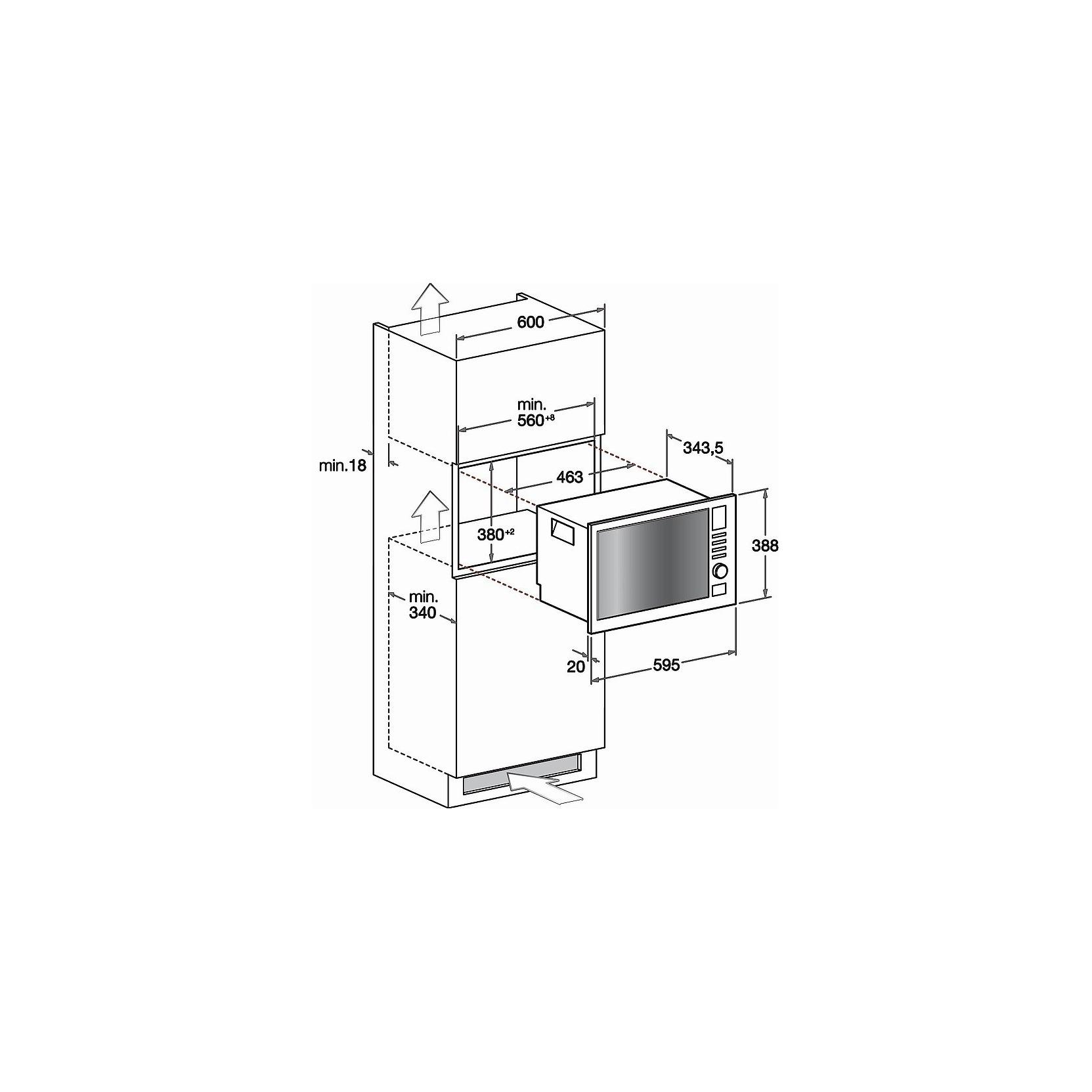 Hotpoint ariston mwha122 1x forno a microonde da incasso 20 litri con grill inox promozione - Forno combinato whirlpool da incasso ...