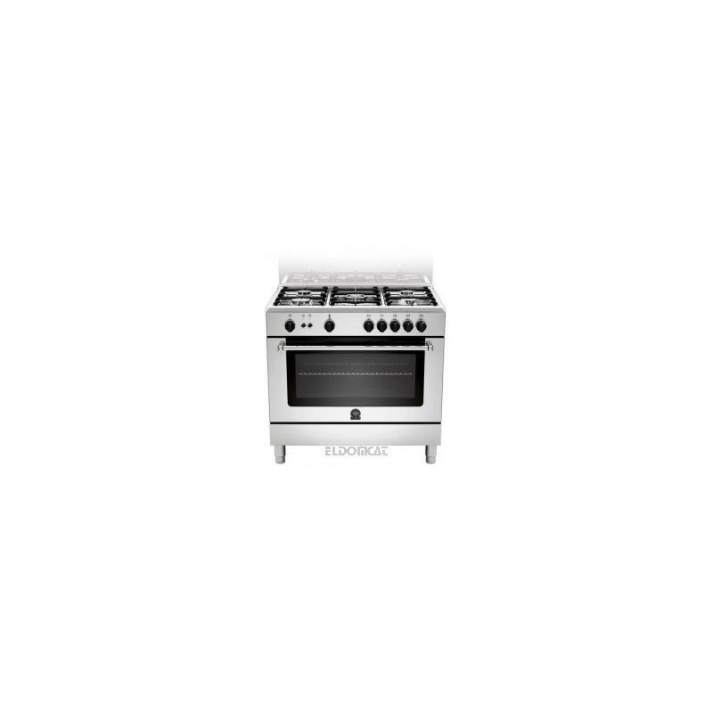 Cucina la germania am95c71cx 90x60 5 fuochi a gas forno a - Cucine a gas la germania ...