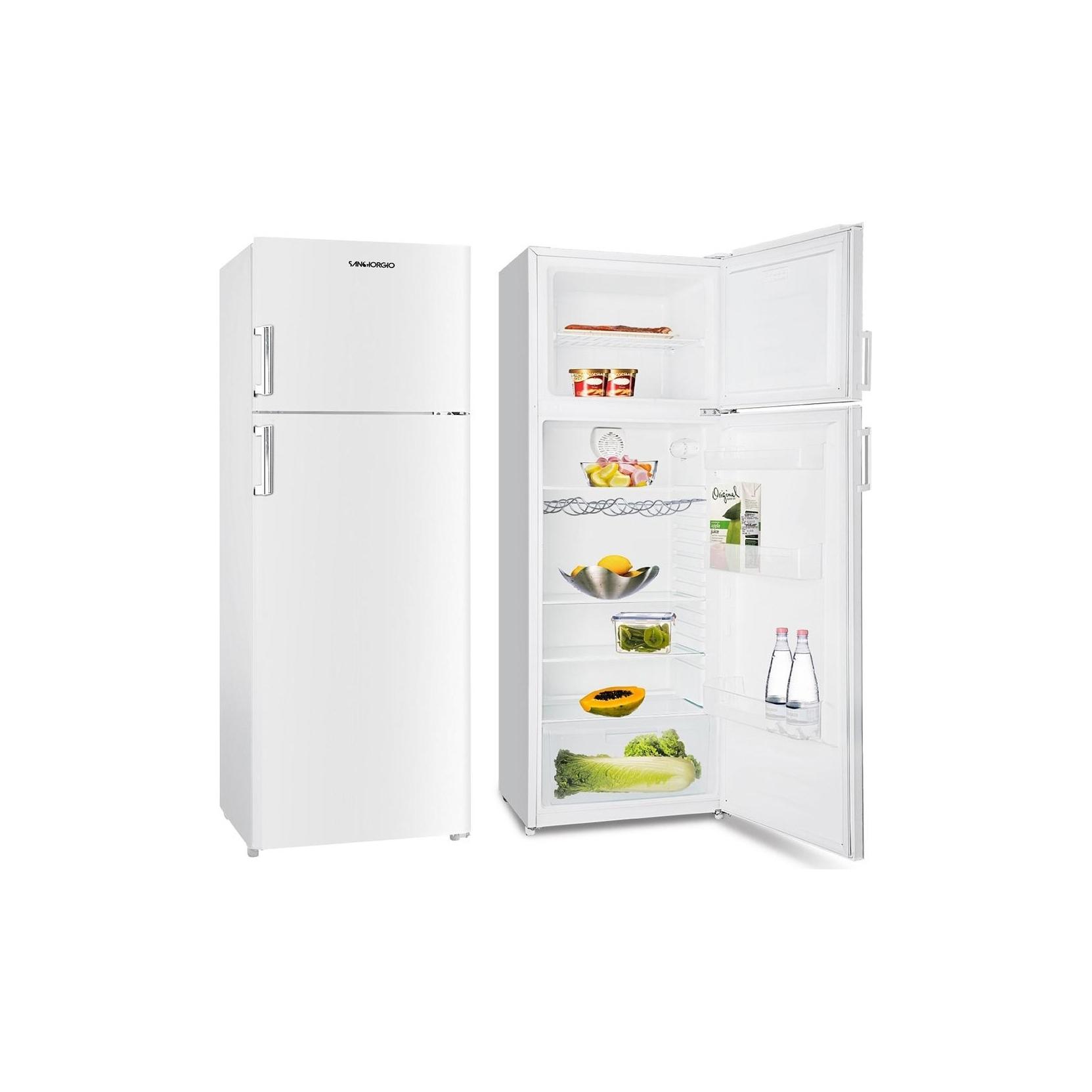 San giorgio sd32sw frigorifero doppia porta 300 lt classe a garanzia italia promo - Frigoriferi doppia porta classe a ...