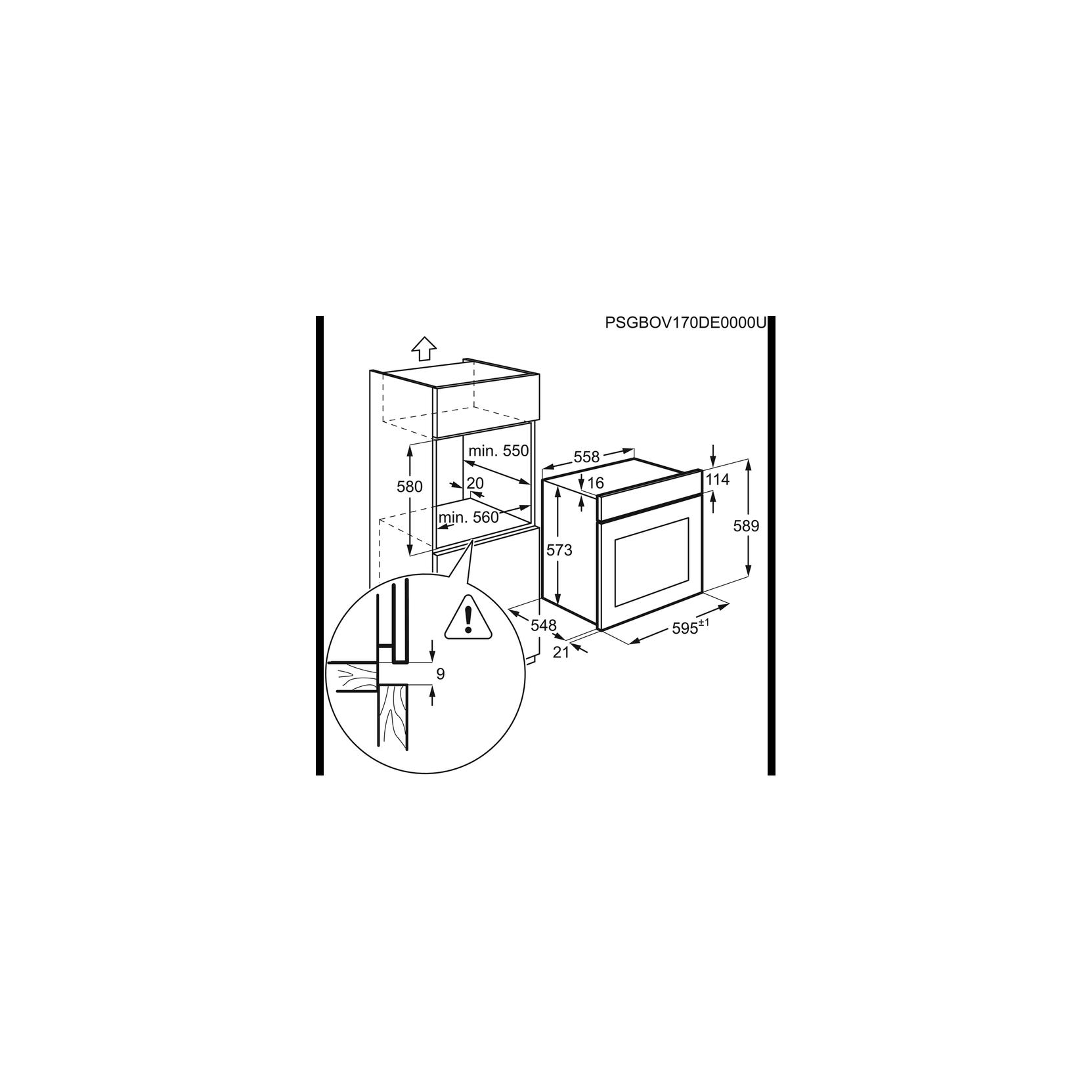 Forno incasso aeg bsk571221m classe a a vapore ventilato - Forno a vapore electrolux ...