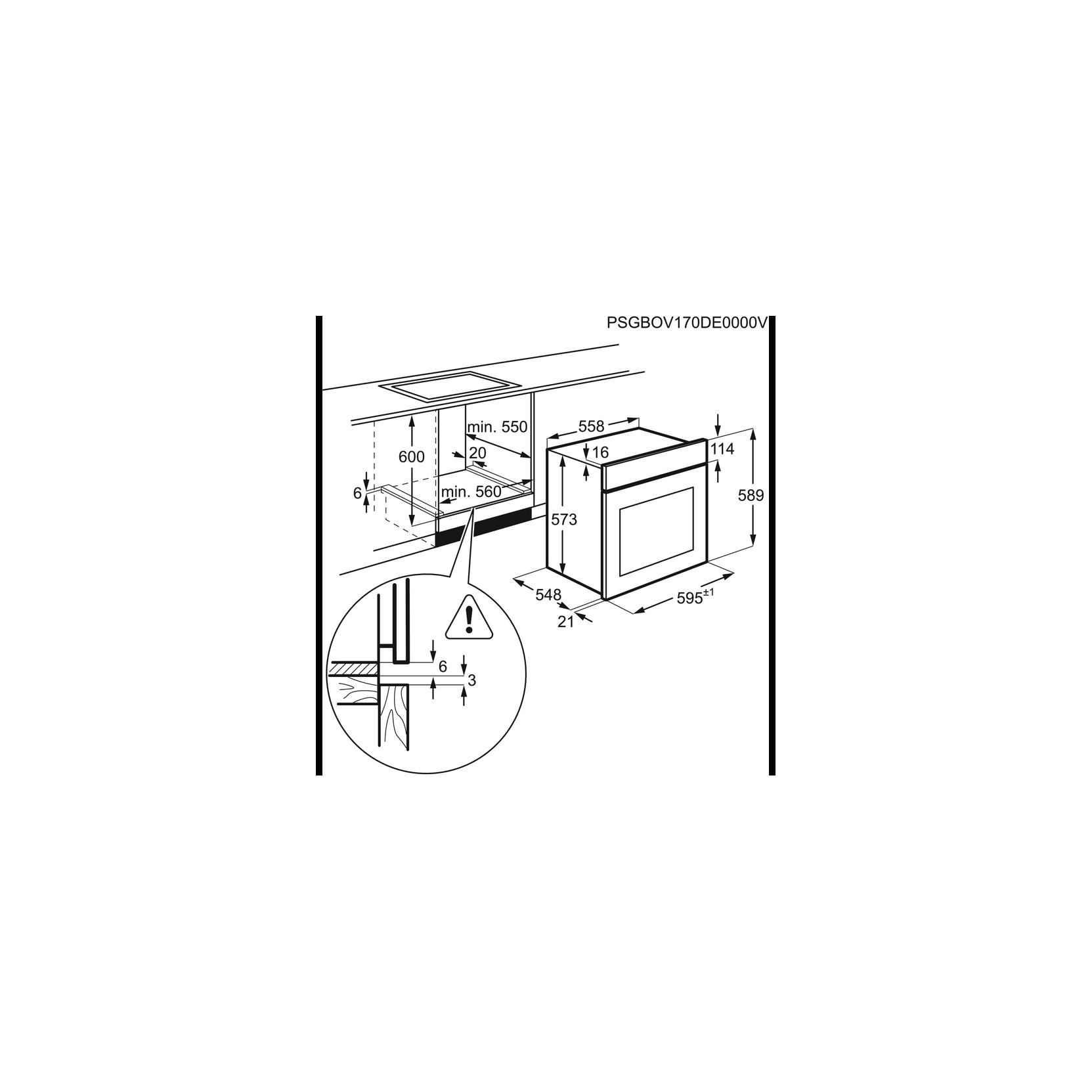 Aeg bpk531221m forno multifunzione elettrico da incasso cm - Forno da incasso aeg ...