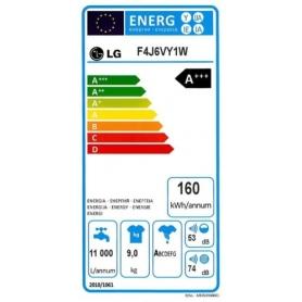 LAVATRICE LG F4J6VY1W 9 KG CLASSE A+++-20% 1400 GIRI CON PROGRAMMA VAPORE - GARANZIA ITALIA - PROMO