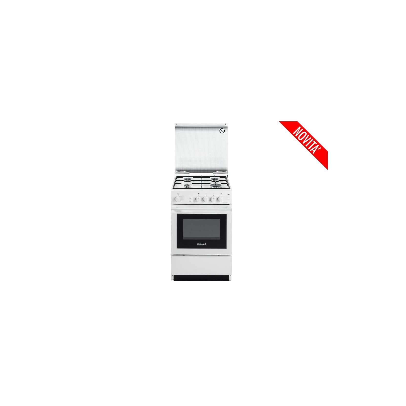 Cucina de longhi sggw554gbn 50x50 f gas grill elettrico bianca coperchio in cristallo - Cucina elettrica de longhi ...