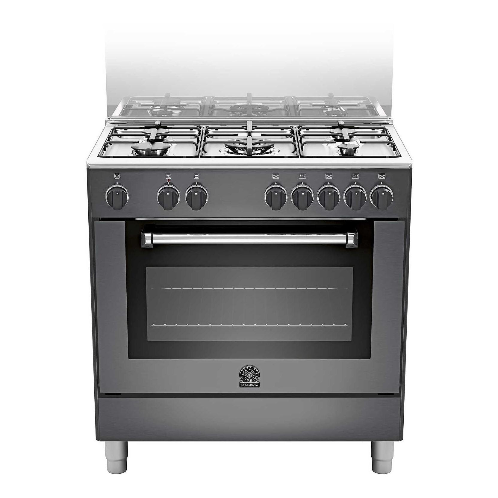 la germania amn805mfesnee cucina 5 fuochi a gas forno