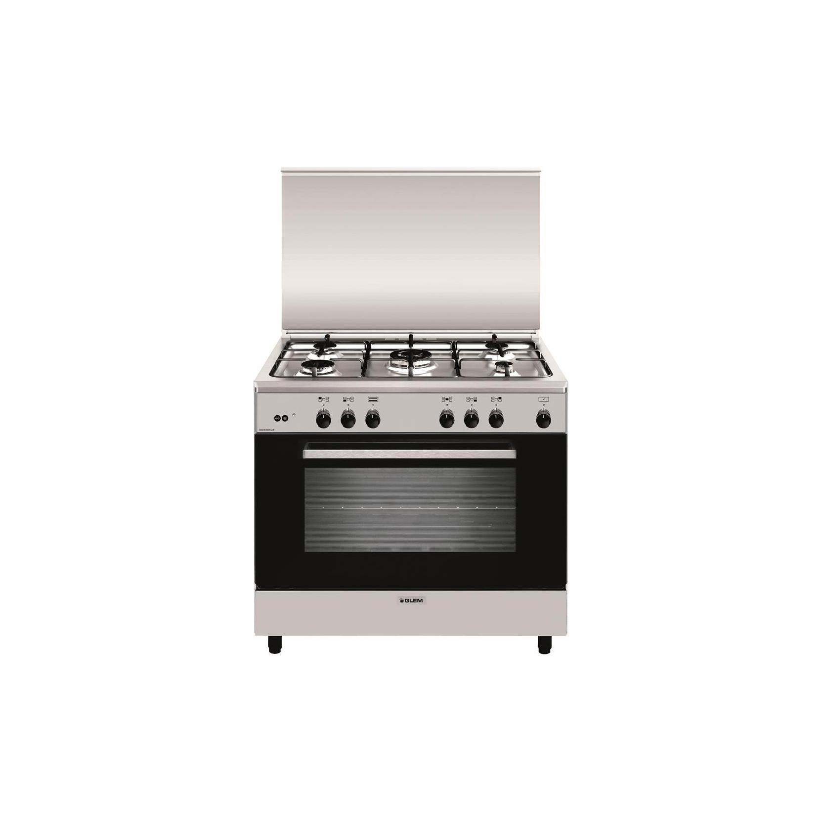 Glem gas cucina a gas a965gi 5 fuochi forno a gas con - Cucine a gas con forno elettrico ...